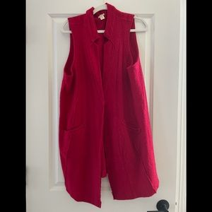 Chico's red duster